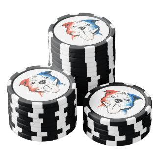 PBR Gruben-Stier-Poker-Chipset Poker Chip Set