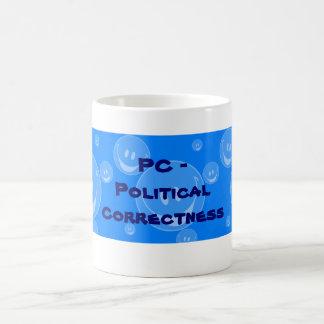 PC - politische Korrektheit Tasse