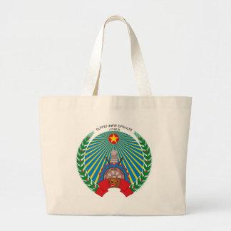 PDR_Ethiopia_emblem Jumbo Stoffbeutel