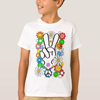 Peace, bébé ! t-shirt