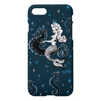 Pearla Meerjungfrau auf Seepferd Iphone Fall iPhone 8/7 Hülle