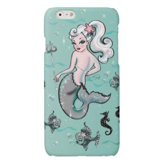 Pearla Meerjungfrau, die zurück Mobiltelefonkasten