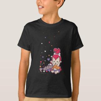 PEBBLES™ lila Herz T-Shirt