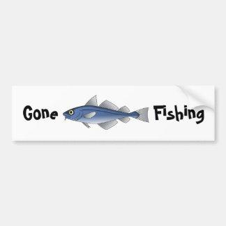 Pêche allée adhésifs pour voiture