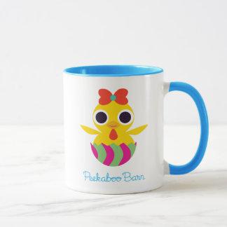 Peekaboo-Scheune Ostern | Bayla das Küken 2 Tasse