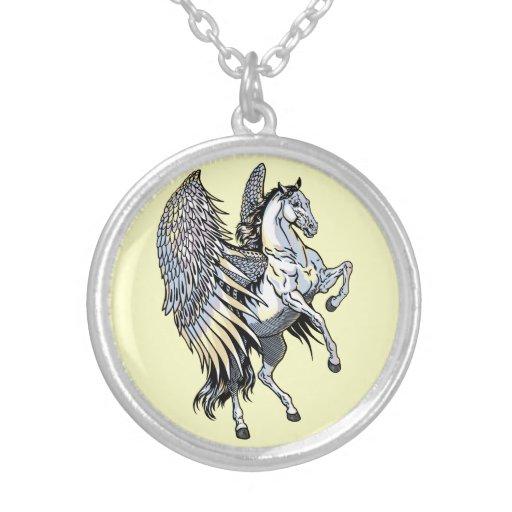 Pegasus blanc bijouterie fantaisie