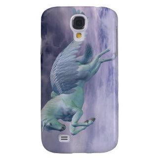 Pegasus, der durch Sturm-Wolken galoppiert Galaxy S4 Hülle