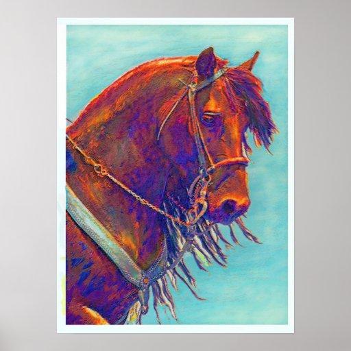 peignez le poney posters