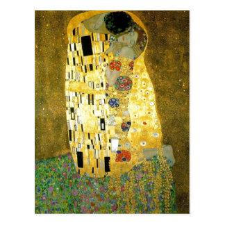 Peinture www.ya de Gustav Klimt de description som Cartes Postales
