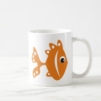 peixe laranj kaffeetasse