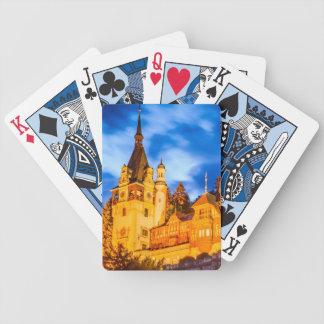 Peles Spielkarten des Pokers Schloss Sinaia