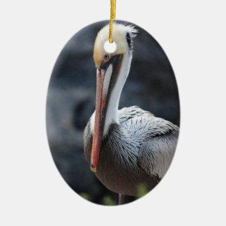 pelican.jpg ovales keramik ornament