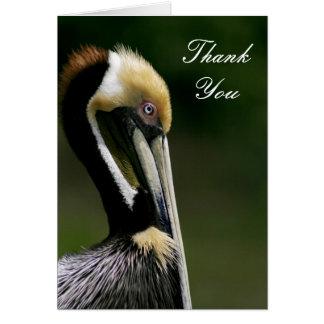 Pelikan - danke zu kardieren karte