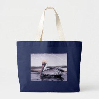 Pelikan-Gleiten Jumbo Stoffbeutel