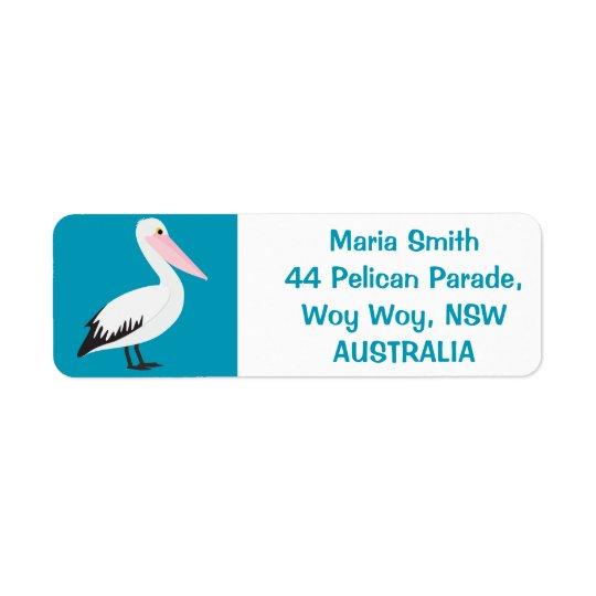 Pelikan Kleiner Adressaufkleber