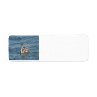 Pelikan Rücksendeetikett