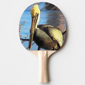 Pelikan-Vogel-Paddel Tischtennis Schläger