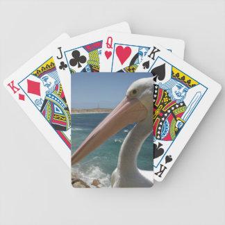 Pelikan, Yorke Halbinsel, Australien, Bicycle Spielkarten