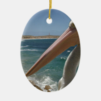 Pelikan, Yorke Halbinsel, Australien, Keramik Ornament