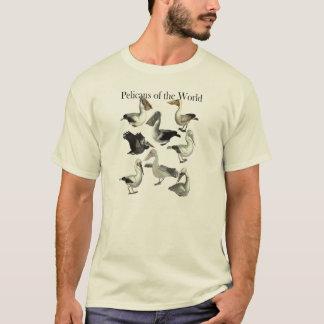 Pelikane des WeltShirts T-Shirt