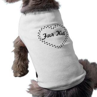 Pelz-KinderT - Shirt für Sie Pelzbabys