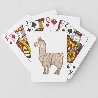 Pelzlama-Spielkarten Spielkarten