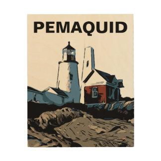 PEMAQUID PUNKT-LICHT HOLZWANDDEKO