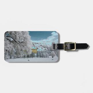 Pemberley im Winter-Gepäckanhänger Gepäckanhänger