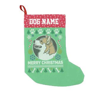 Pembroke-Walisercorgi-Hundehässliche Kleiner Weihnachtsstrumpf