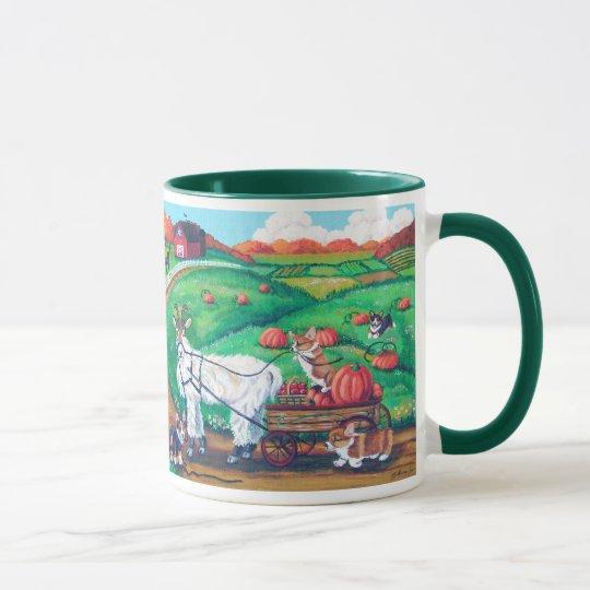 Pembroke-Walisercorgi-Tassen Tasse