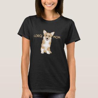 Pembrokecorgi-Mamma - niedlicher lustiger Hund T-Shirt