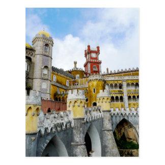 Pena Palast-Lissabon Portugal UNESCO-Erbe Postkarte