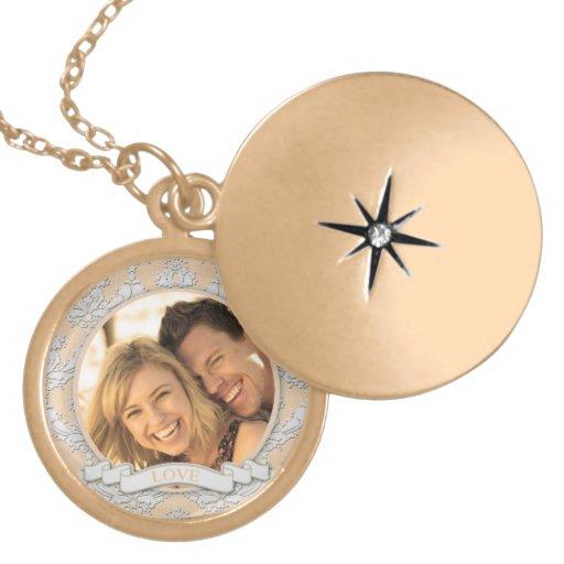 Pendentif personnalisable Necklace_Medium d'amour