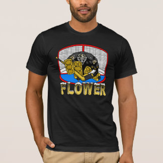 Penguin-Blumen-T - Shirt