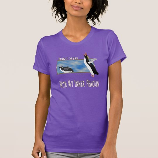 Penguin innerhalb des Damen-Nano-T - Shirt