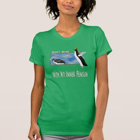 Penguin innerhalb des T - Shirt der Damen-Jersey
