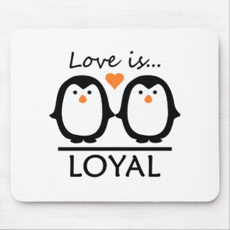 Penguin-Liebe Mauspads
