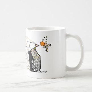 Penguin origami kaffeetasse