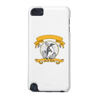 Penguin-Schaufel-Küken Dreamcatcher Zeichnen iPod Touch 5G Hülle