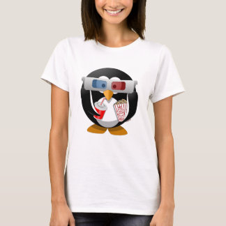 Penguin watching zu Movie T-Shirt