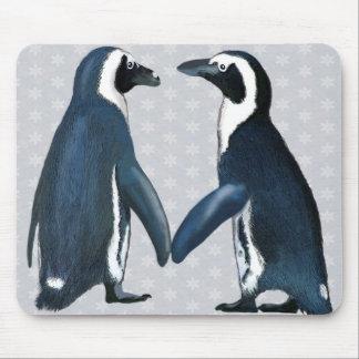 Penguins in der Liebe Mousepad