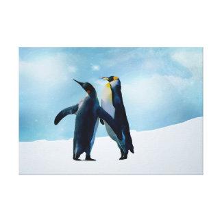 Penguins leben und lassen Live Gespannte Galeriedrucke