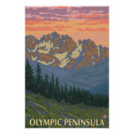 Péninsule olympique, fleurs de WashingtonSpring Posters