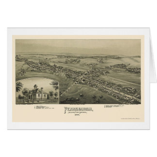Pennsburgh, panoramische Karte PAs - 1894