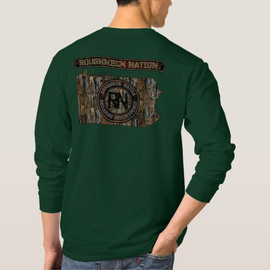 Pennsylvania-Anlage herauf Camouflage T-Shirt