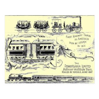 Pennsylvania begrenzte Postkarte 1887