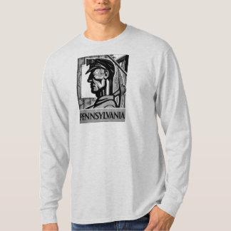 Pennsylvania-Kohlen-Plakat WPA 1938 T-Shirt
