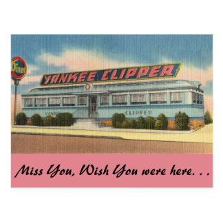 Pennsylvania, Yankee-Scherer-Restaurant Postkarte