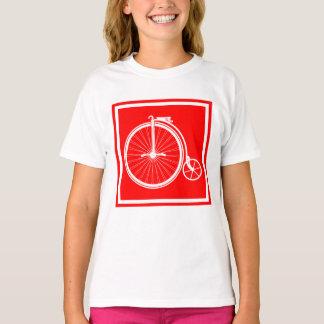Penny-Farthing-hoher Geschäftemacher T-Shirt
