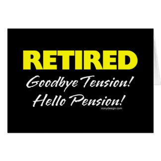 Pensionierte Hellow Pension (dunkel) Karte